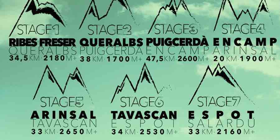 Carrera por etapas Pyrenees Stage Run