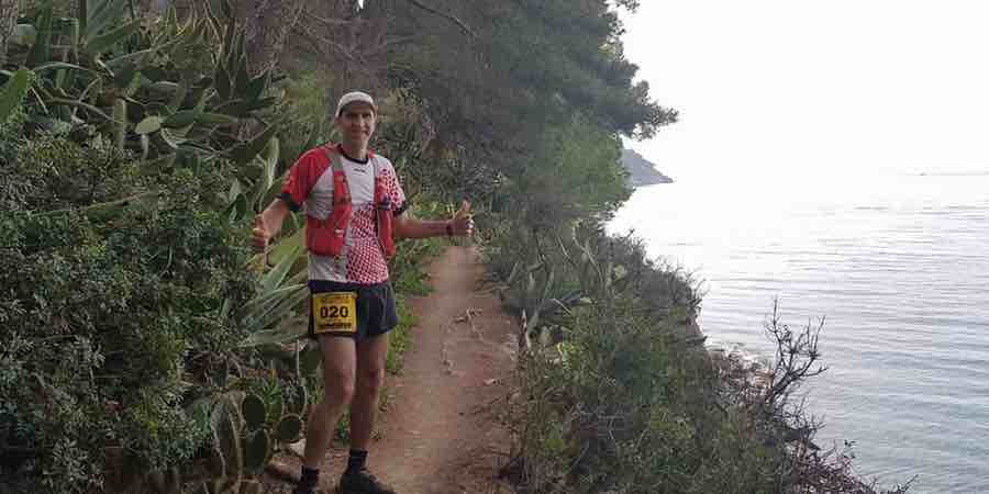 Costa brava stage run. Trail running por la Costa Brava