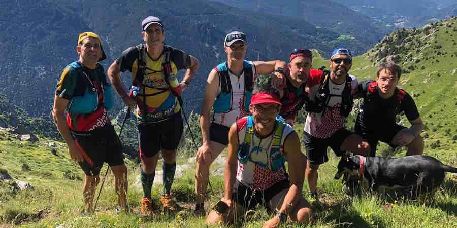 Entrenando en el pirineo con los compis @fondistesblanes