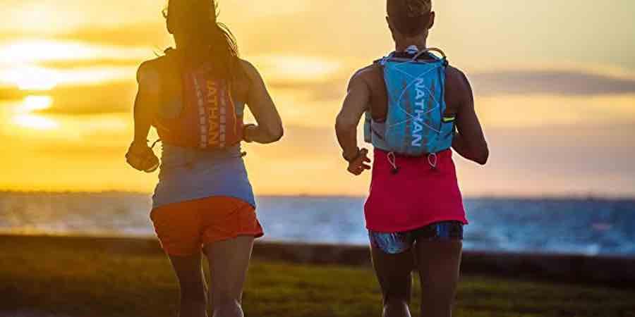 mochilas y chalecos nathan para trail running