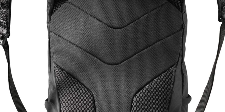 Espalda acolchada de la Salomon trailblazer 20l